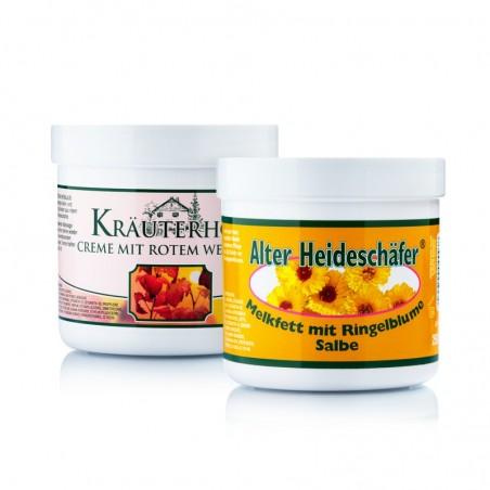 Zestaw do pielęgnacji z oliwą z oliwek Kräuterhof